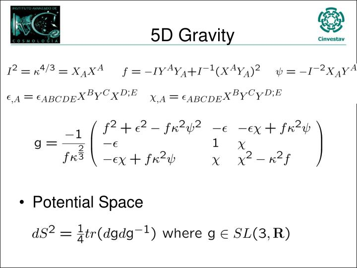 5D Gravity