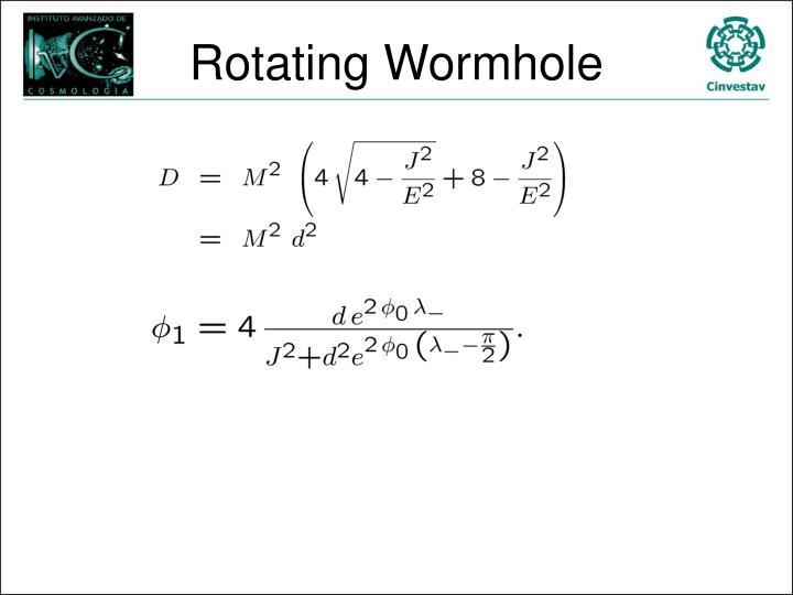 Rotating Wormhole