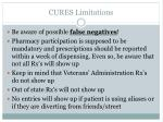 cures limitations
