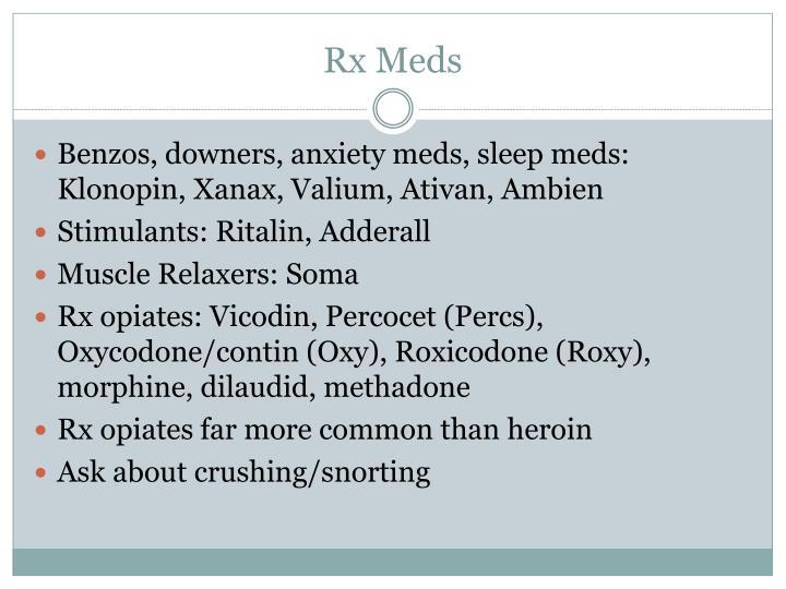 Rx Meds