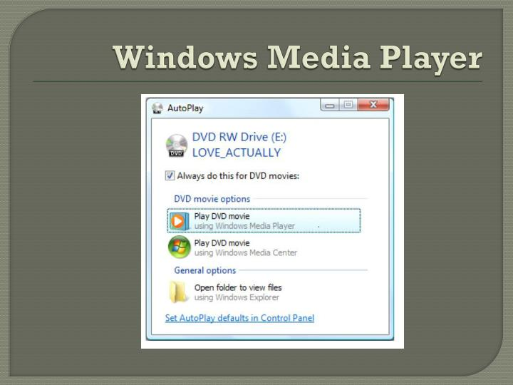Windows media player1