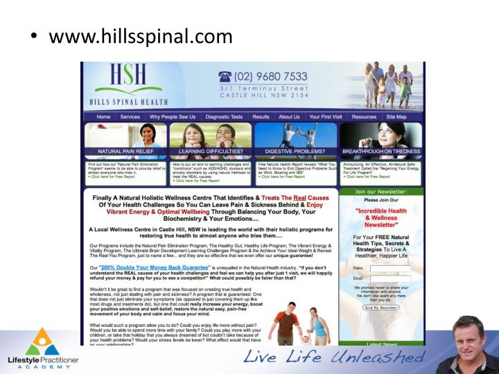 www.hillsspinal.com