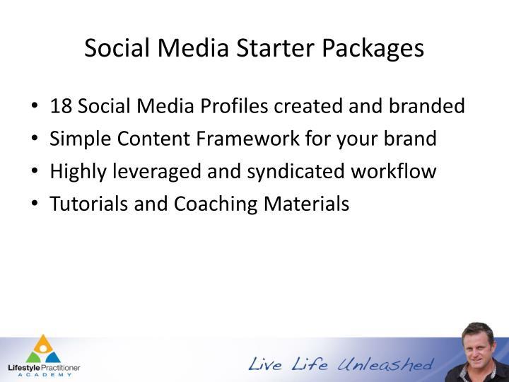 Social Media Starter Packages