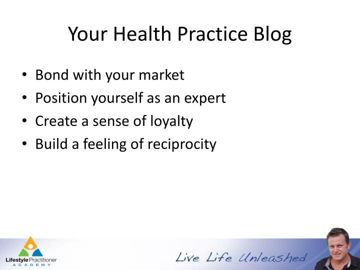 Your Health Practice Blog