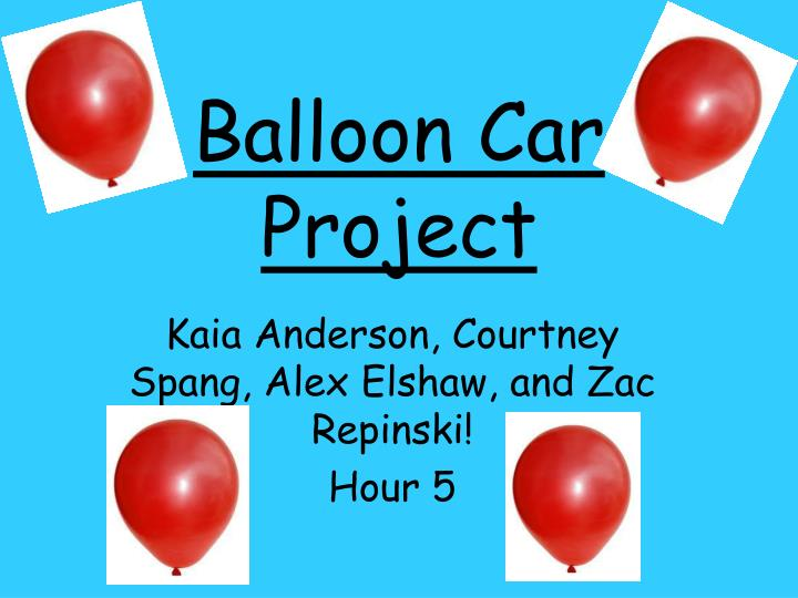 balloon car project Wash out your carton and cut off the top the milk carton will be the body of your  vehicle 2 cut carton it in half the long way 3 cut a small hole.