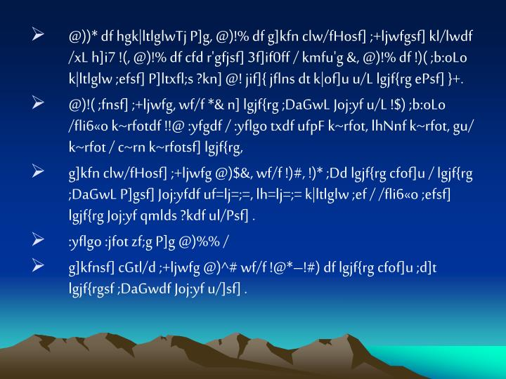 @))* df hgk|ltlglwTj P]g, @)!% df g]kfn clw/fHosf] ;+ljwfgsf] kl/lwdf /xL h]i7 !(, @)!% df cfd r'gfjsf] 3f]if0ff / kmfu'g &, @)!% df !)( ;b:oLo k|ltlglw ;efsf] P]ltxfl;s ?kn] @! jif]{ jflns dt k|of]u u/L lgjf{rg ePsf] }+.