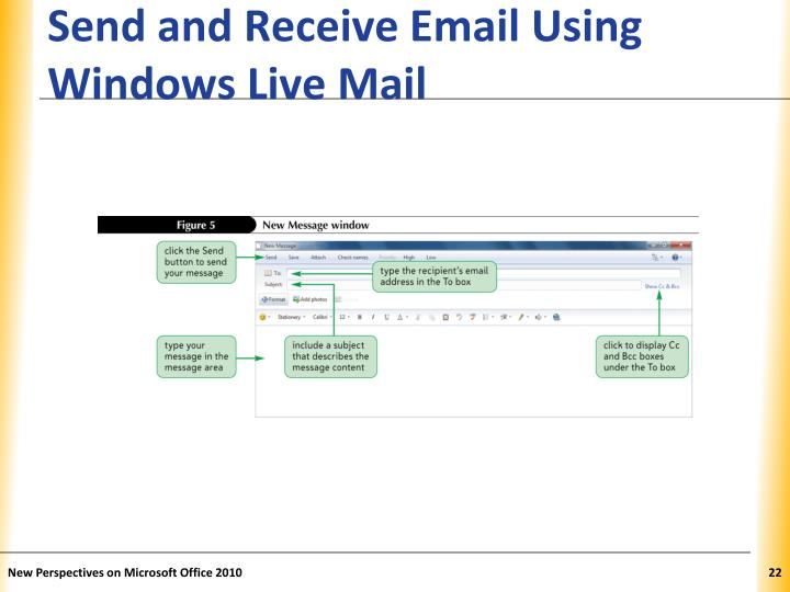 Send and Receive Email Using Windows Live Mail