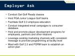 employer ask