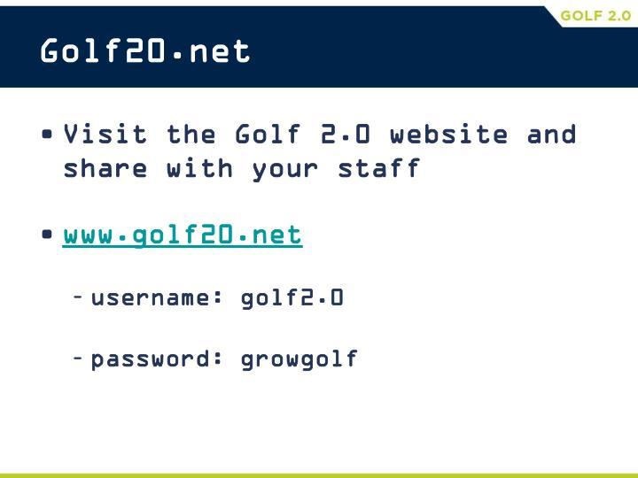 Golf20.net