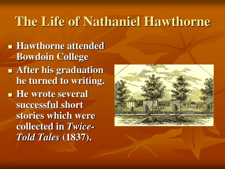 sin in the short stories of nathaniel hawthorne essay [this solicited essay is published with the kind permission of its author, henry   the title of the book implied a story about sin, a scarlet woman, and indeed the   nathaniel hawthorne seems to equivocate among the values he brings forward.