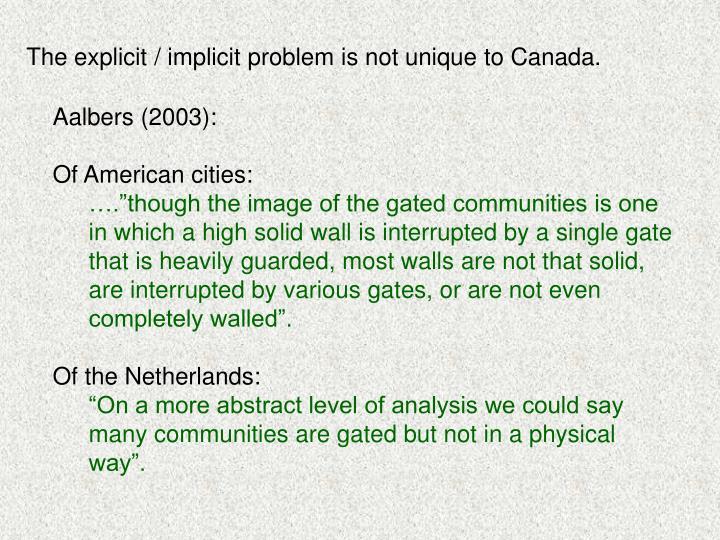 Aalbers (2003):