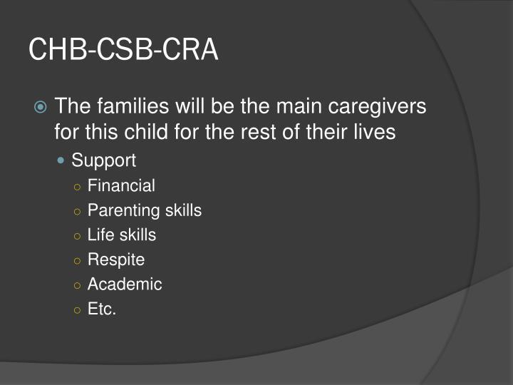 CHB-CSB-CRA