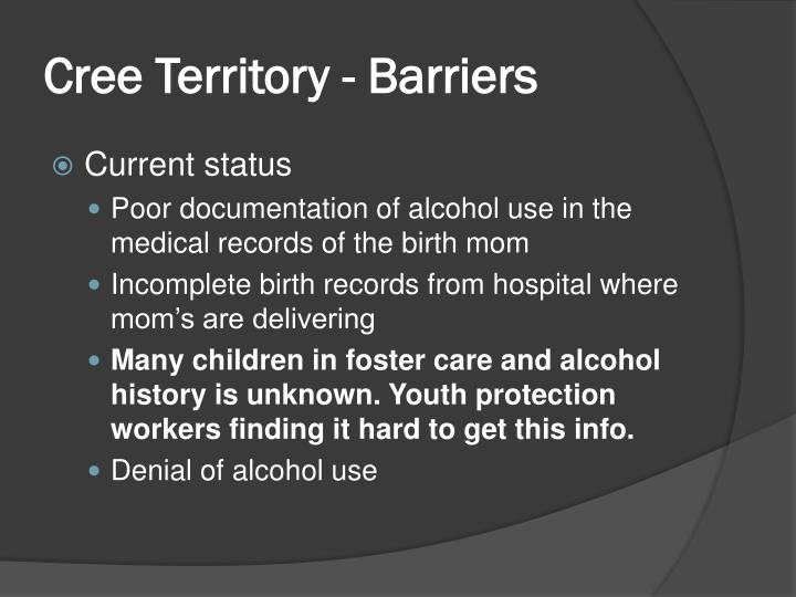 Cree Territory - Barriers
