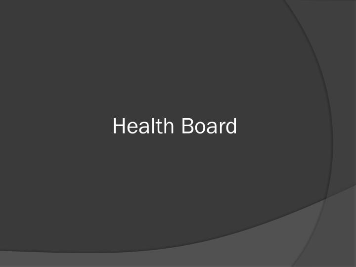 Health Board