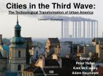cities in the third wave the technological transformation of urban america leonard i ruchelman