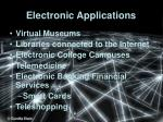 electronic applications
