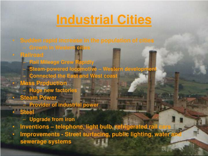 Industrial Cities