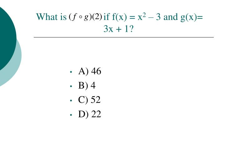 What is if f(x) = x
