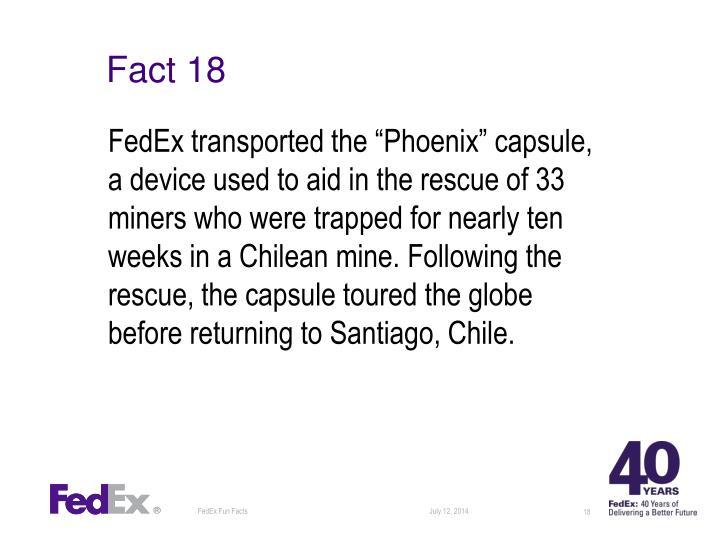 Fact 18
