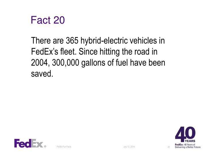 Fact 20