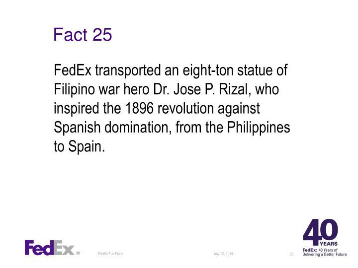 Fact 25