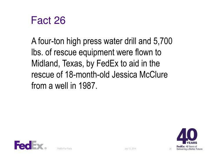 Fact 26