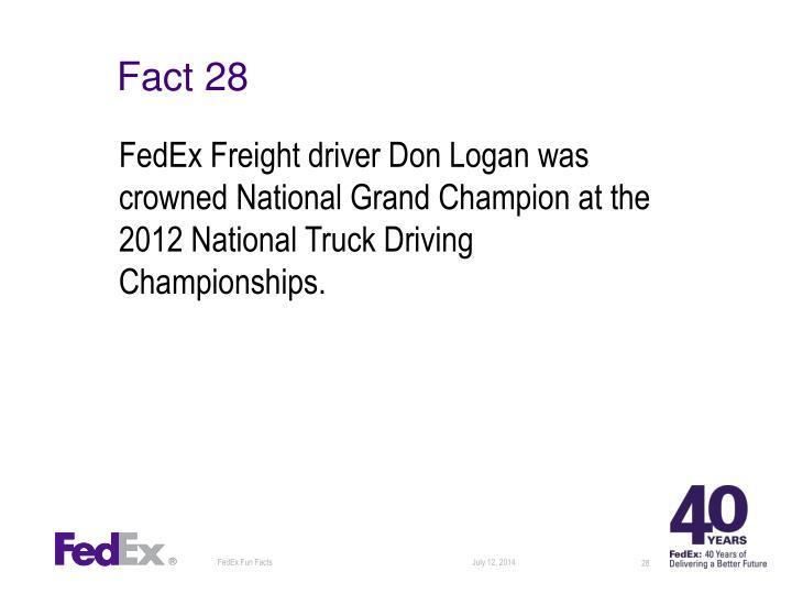 Fact 28