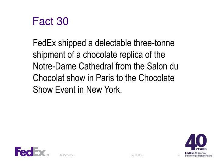 Fact 30
