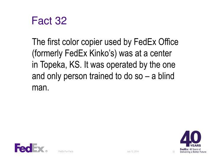Fact 32