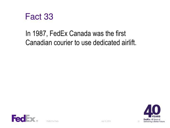 Fact 33