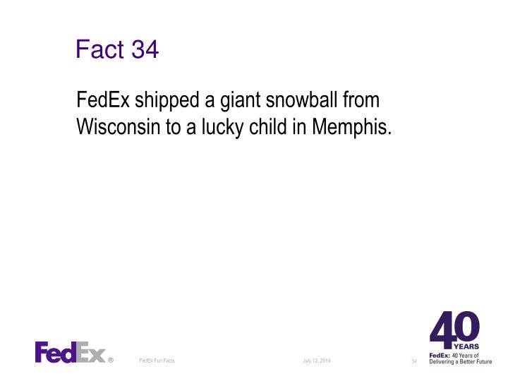 Fact 34