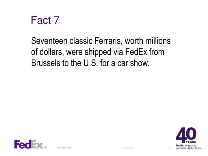 Fact 7