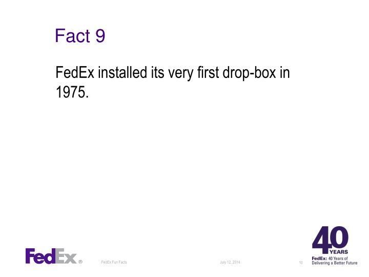 Fact 9