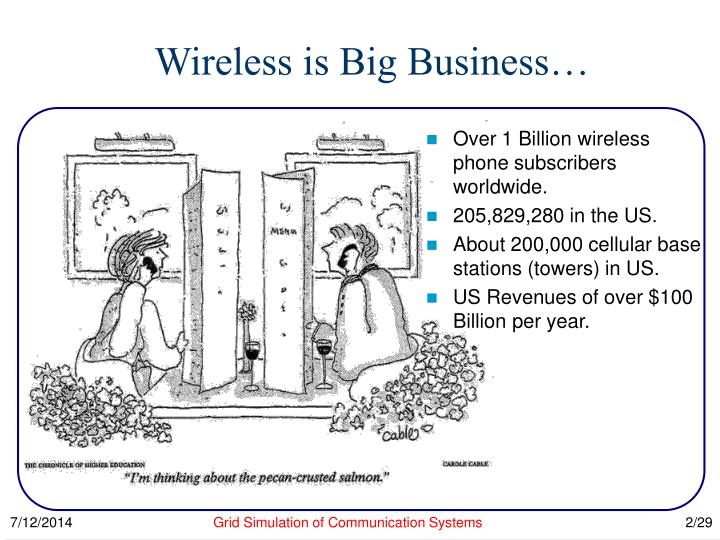Wireless is big business