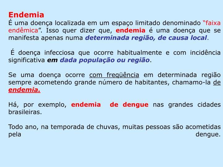 Endemia
