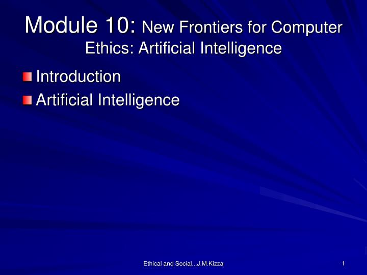 the ethics of artificial intelligence essay
