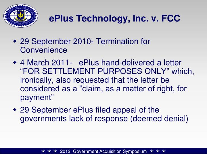 ePlus Technology, Inc. v. FCC