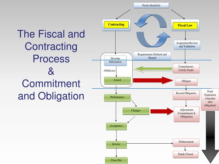 The Fiscal and Contracting Process