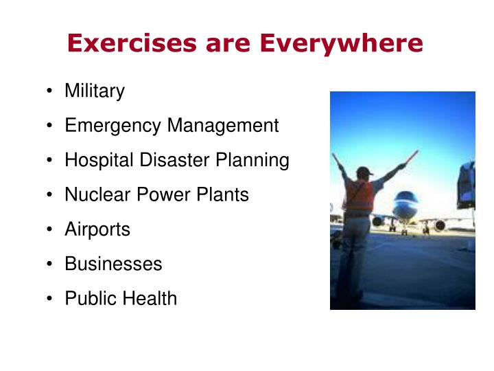Exercises are Everywhere