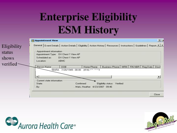 Enterprise Eligibility