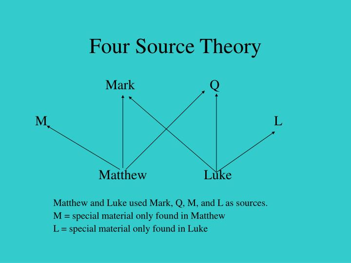 Four Source Theory