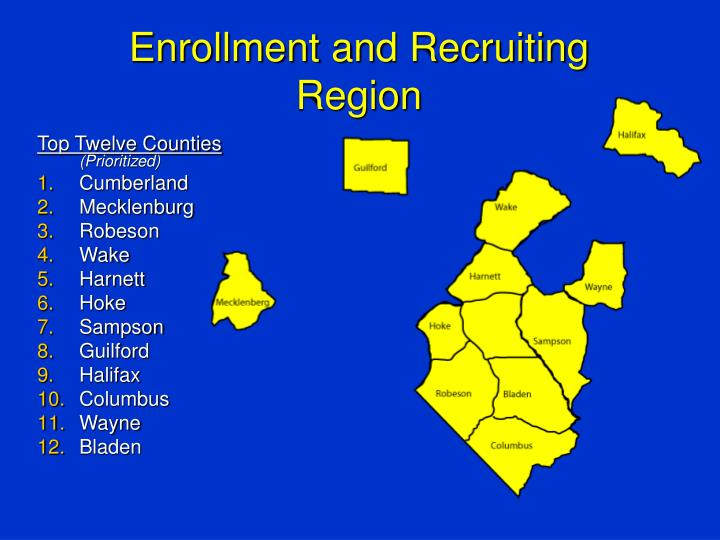 Enrollment and Recruiting