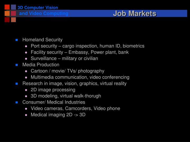 Job Markets