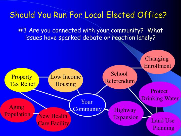 Should You Run For Local Elected Office?