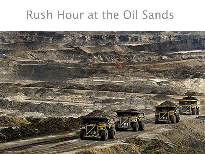 Rush Hour at the Oil Sands