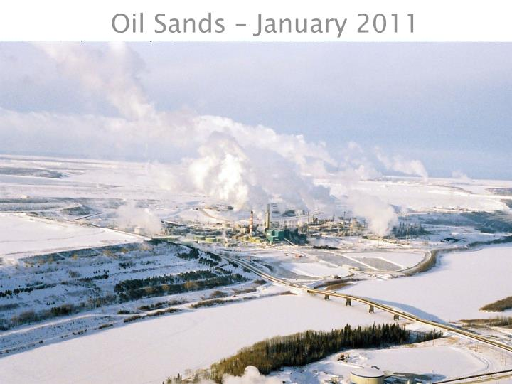Oil Sands – January 2011