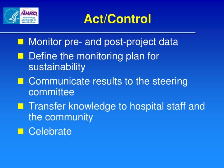 Act/Control