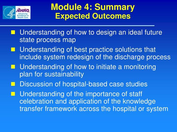 Module 4: Summary