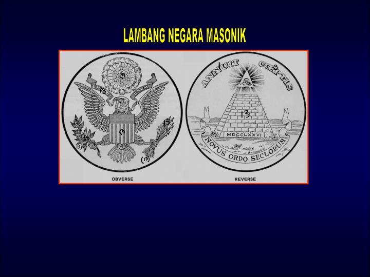 LAMBANG NEGARA MASONIK