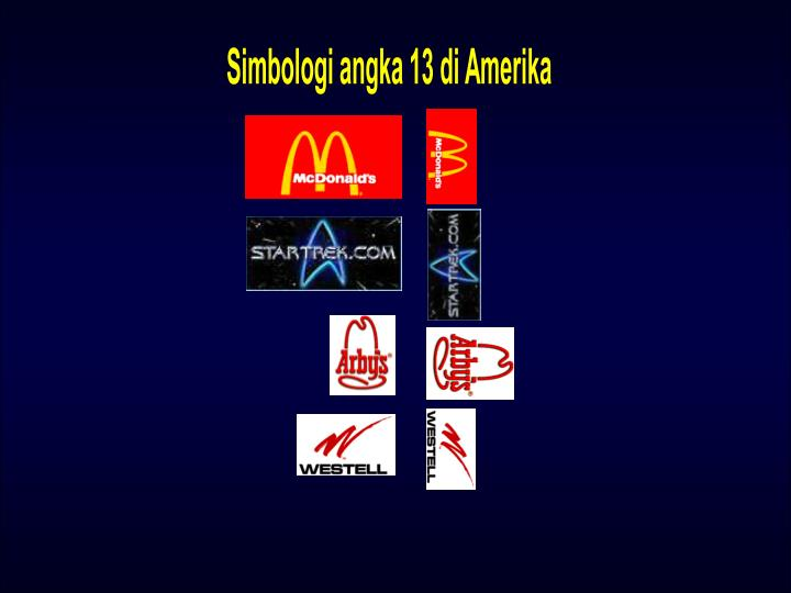 Simbologi angka 13 di Amerika